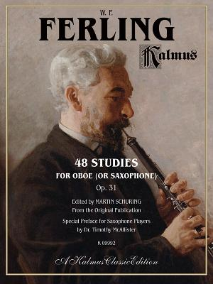 48 Studies for Oboe (Or Saxophone) By Alfred Publishing (COR)