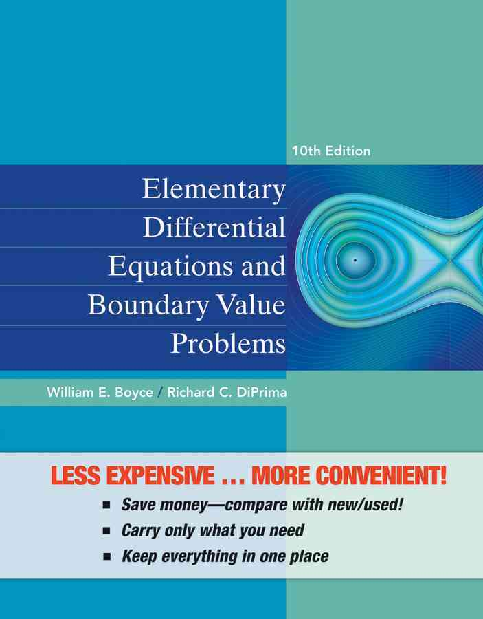 Elementary Differential Equations and Boundary Value Problems By Boyce, William E.